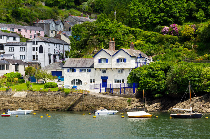 Download Bodinnick Cornwall stock photo. Image of destinations - 28414032