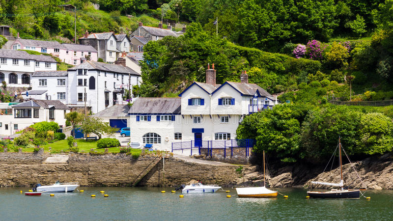 Download Bodinnick Cornwall stock image. Image of river, fowey - 28414041