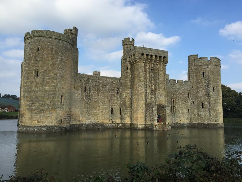 Bodium castle East Sussex England stock photo
