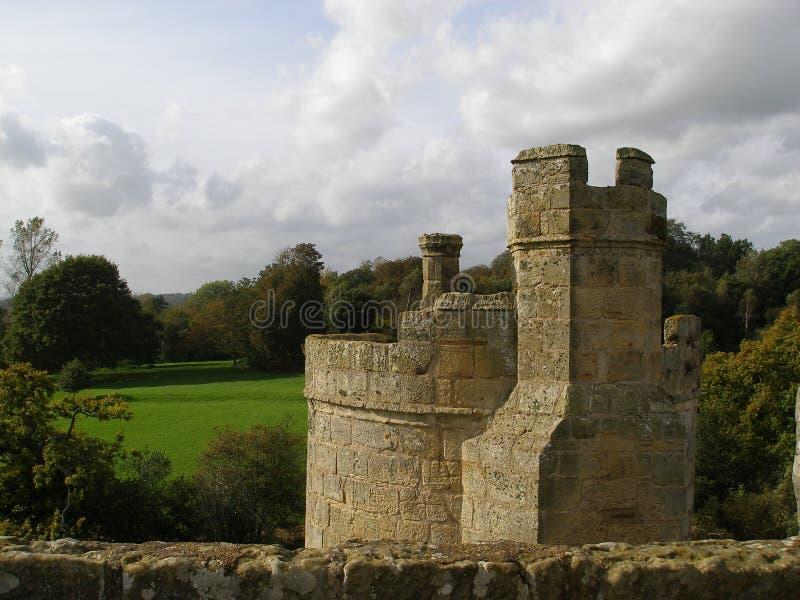 Bodium Schloss stockfoto