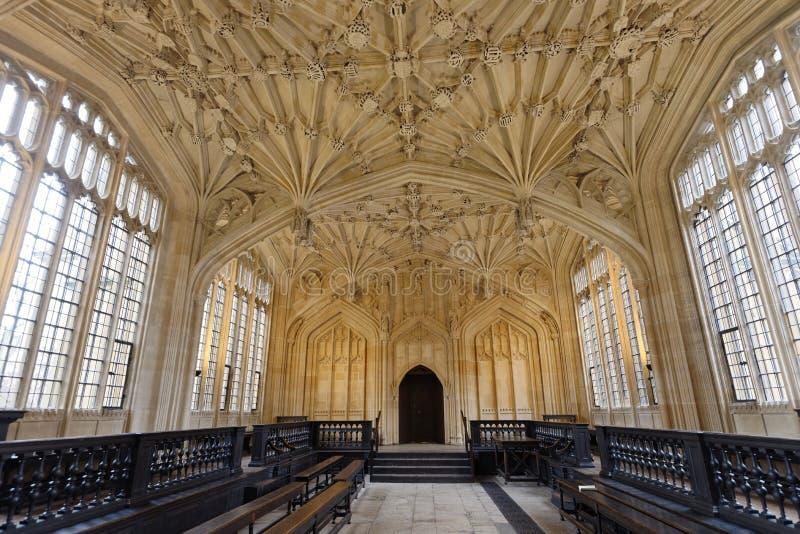 Bodleian biblioteka zdjęcia stock