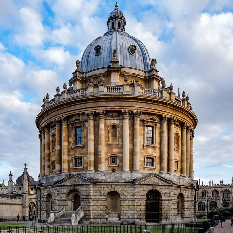 Bodleian Library in Oxford, UK royalty free stock photography