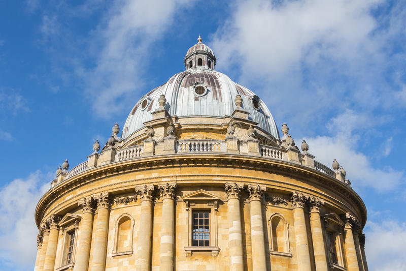 The Bodleian Library of the University of Oxford stock photo