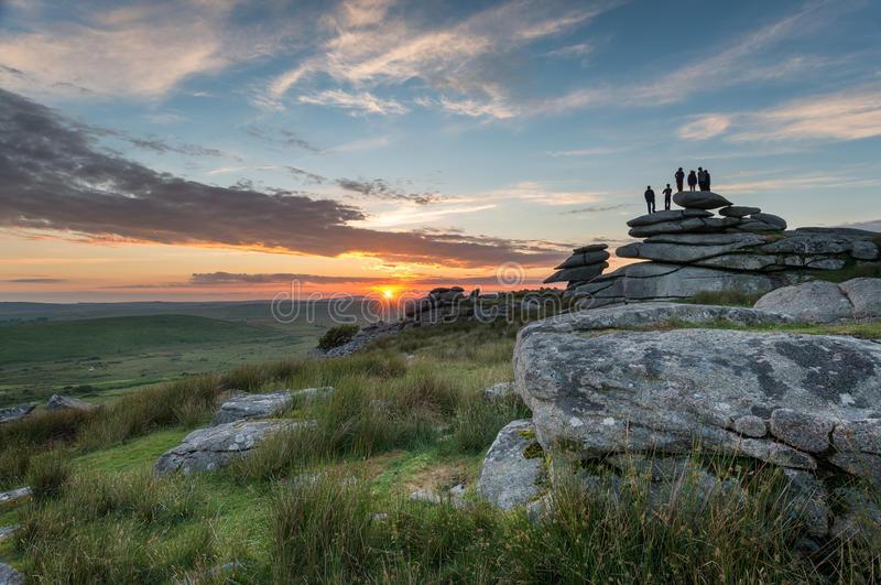 Bodmin Moor In Cornwall Stock Photo