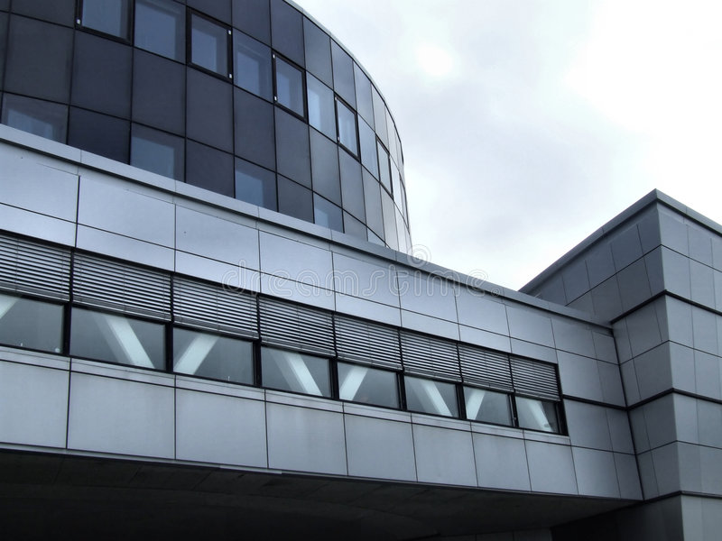 bodo大厦现代办公室 库存图片