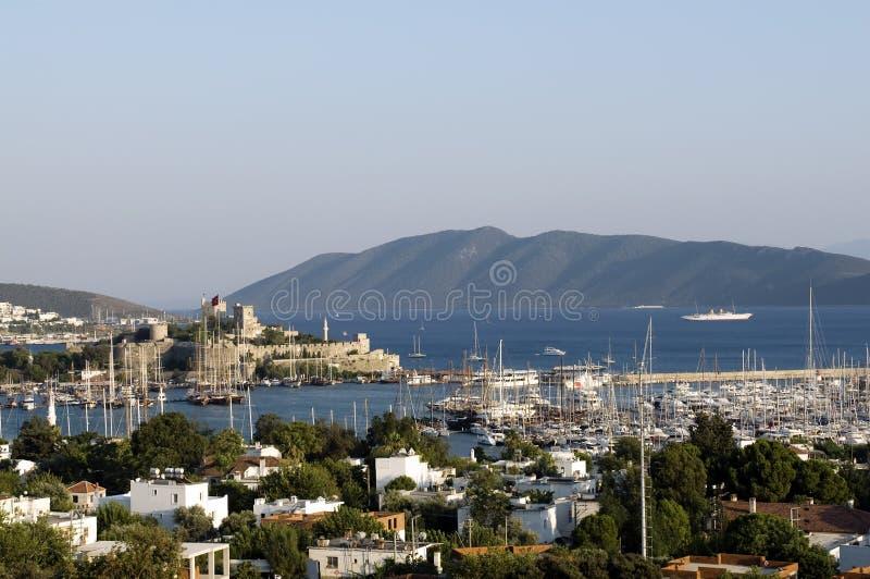 Bodrum. Turkey resort. Coast sea royalty free stock images