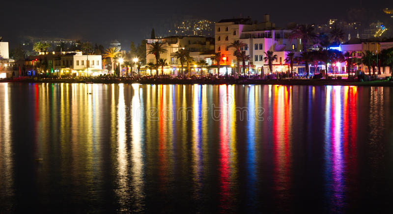 Bodrum. Town from Mugla, Turkey royalty free stock photography