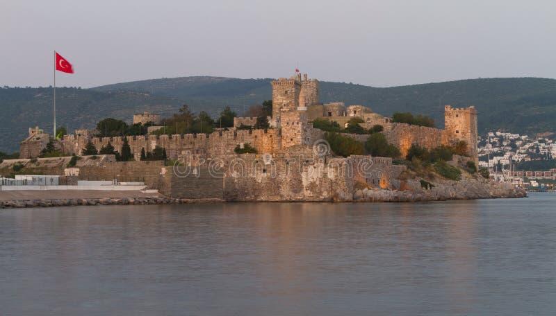 Bodrum Castle. From Mugla, Turkey stock photo