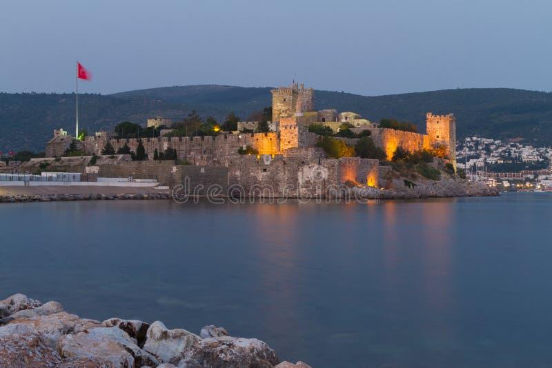 Bodrum Castle. From Mugla, Turkey royalty free stock images