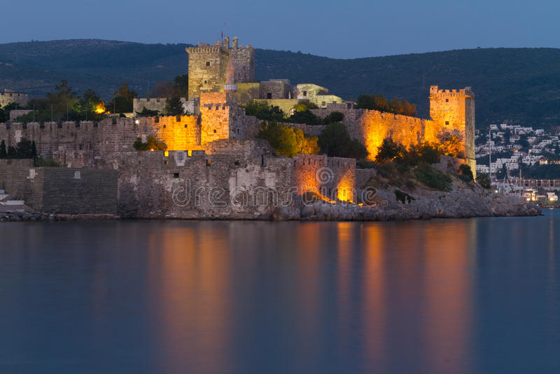 Bodrum Castle. From Mugla, Turkey royalty free stock photography