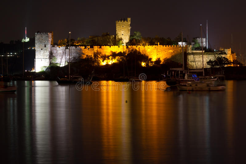 Bodrum Castle. From Mugla, Turkey royalty free stock image