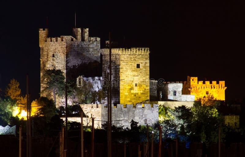 Bodrum Castle. From Mugla, Turkey stock image