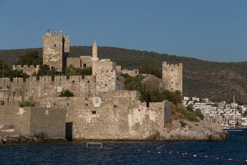 Bodrum Castle. In Aegean Coast of Turkey royalty free stock image