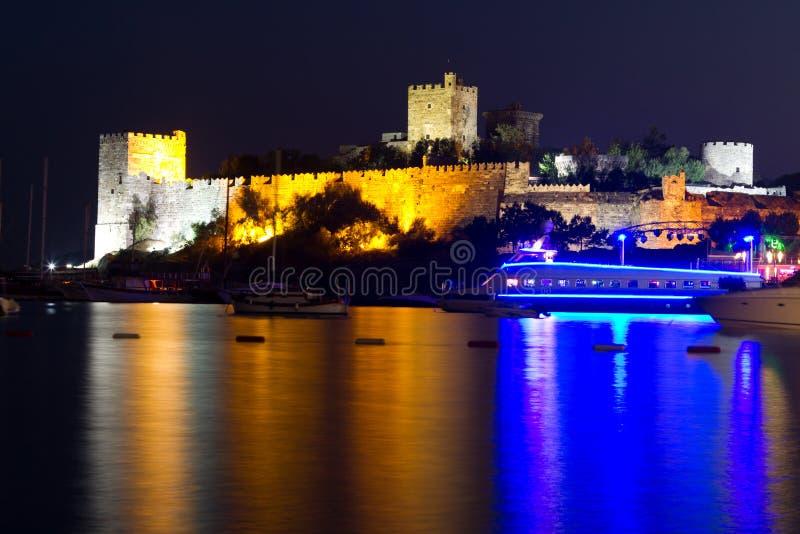 Bodrum Castle from Mugla. Turkey royalty free stock photos
