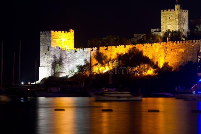 Bodrum Castle from Mugla. Turkey royalty free stock image