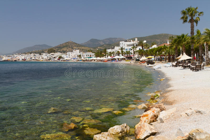 Download Bodrum Coast stock image. Image of shore, turkish, view - 25233611