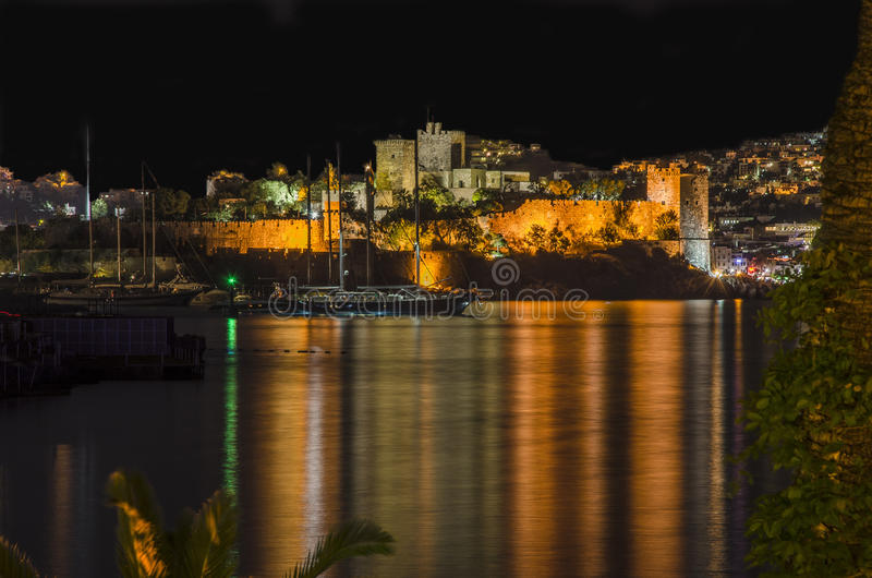 Bodrum. View from a hill stock photography