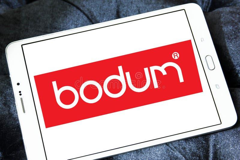 Bodum firmy logo zdjęcia stock
