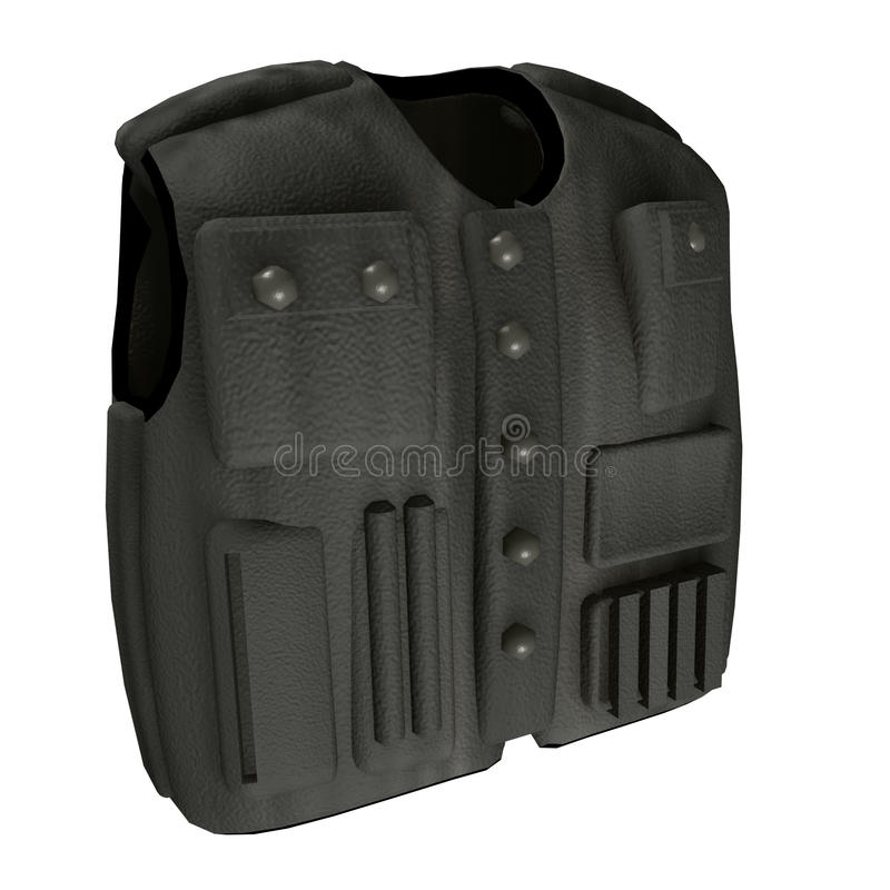 Body Armour. Illustration from online game In Nomine Credimus vector illustration