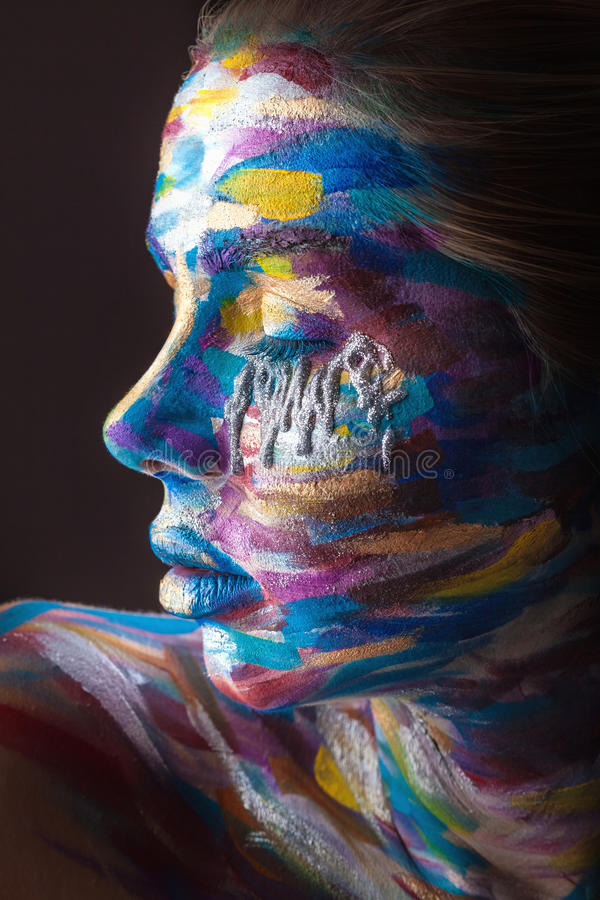 Body art stock images