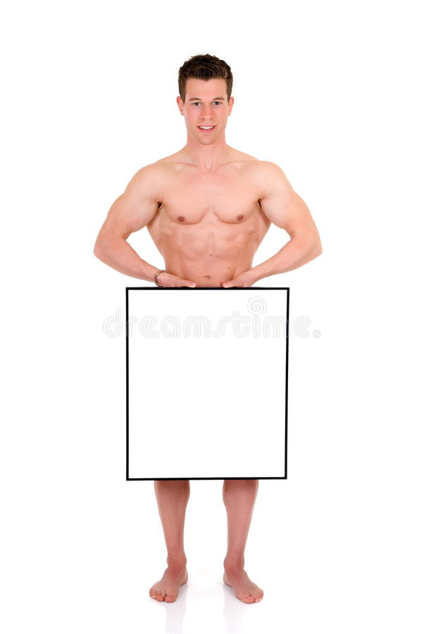 Download Body Builder Advertising Board Stock Image - Image of show, fitness: 5134111
