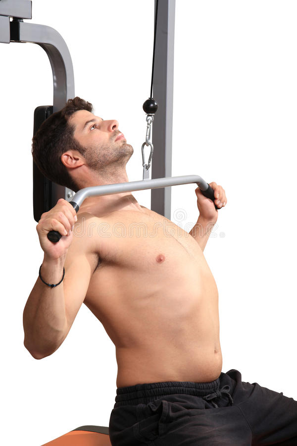 Body builder workout