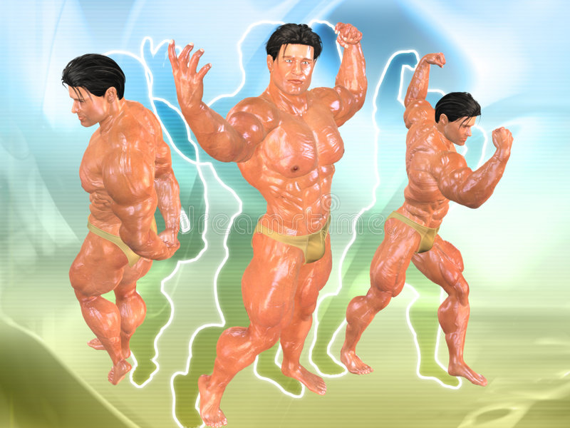 Download Body Building Background Royalty Free Stock Images - Image: 723409