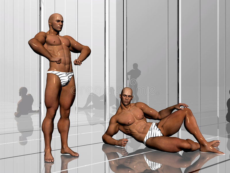 Download Body building, lifestyle. stock illustration. Illustration of bodybuilding - 1373969
