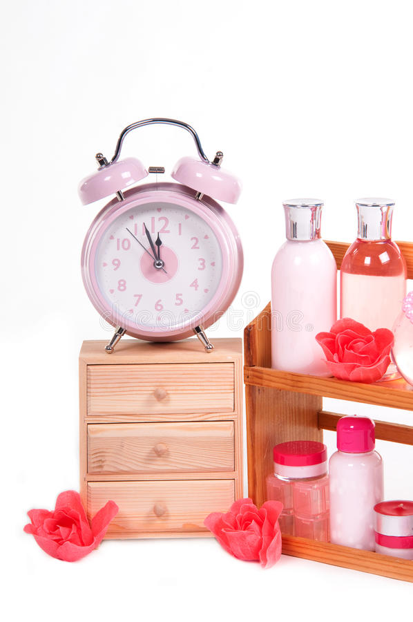 Body care objects and retro alarm clock