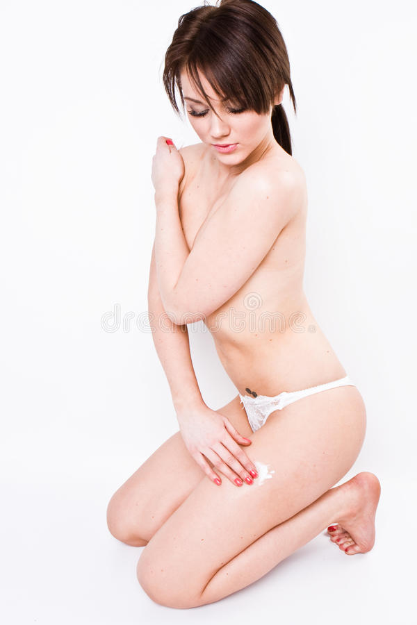 Body care series stock photography