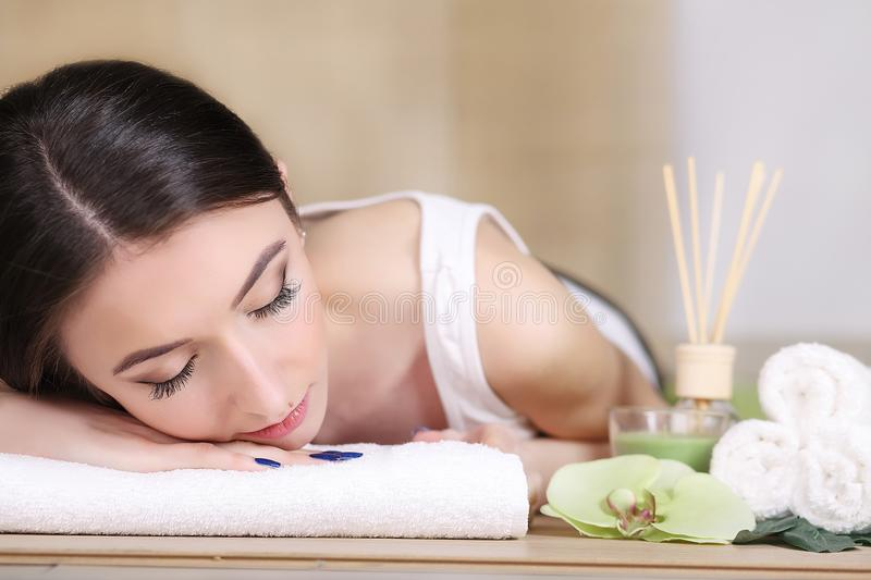 Body Care. Spa Woman. Beauty Treatment Concept. Beautiful Health royalty free stock photo