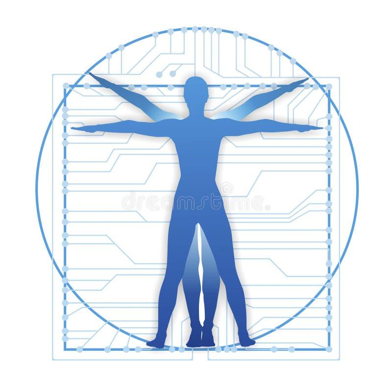 Body stock illustration