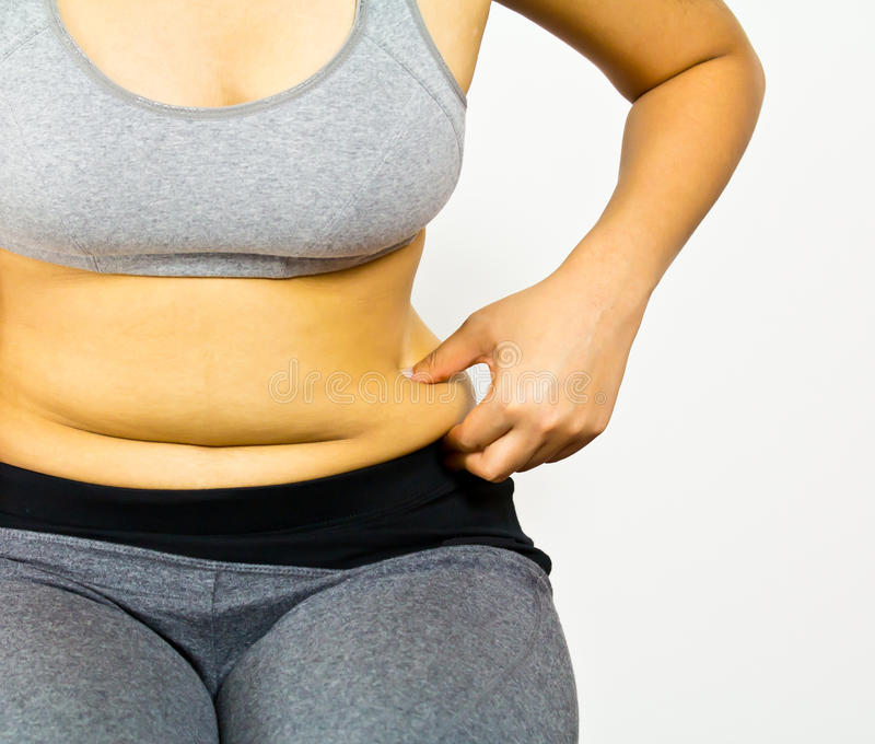 Body Fat Stock Photography