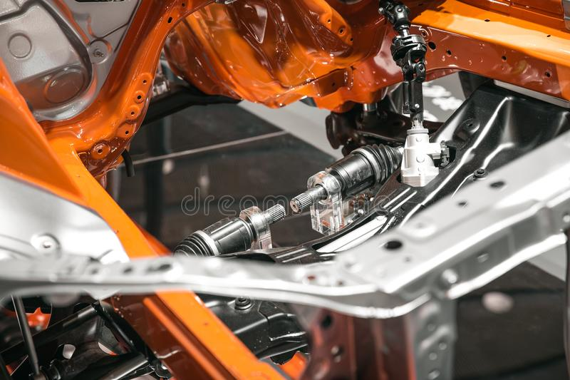 Body frames of car stock photo. Image of expensive - 106706644