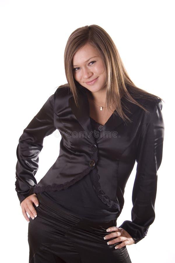 Body language stock image