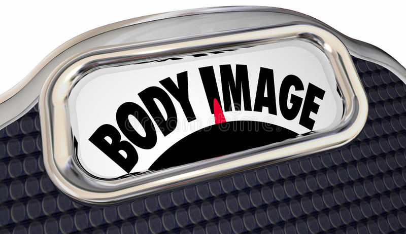 Body Mass Index Scale BMI Measure Overweight Fat Loss stock illustration