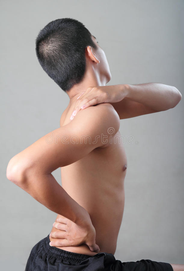 Body Pain Royalty Free Stock Images
