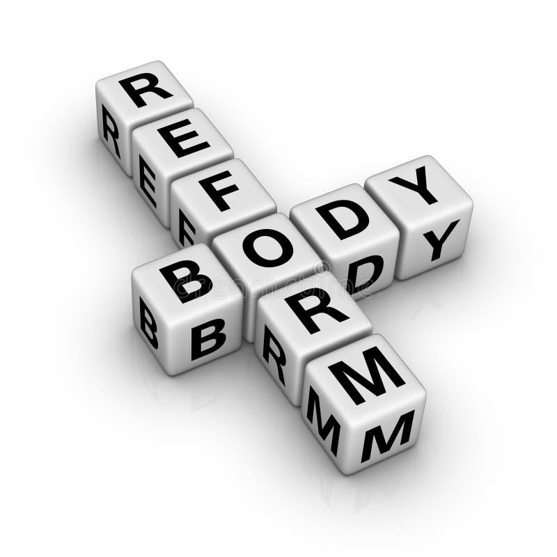 Download Body reform sign stock illustration. Illustration of figure - 16270209