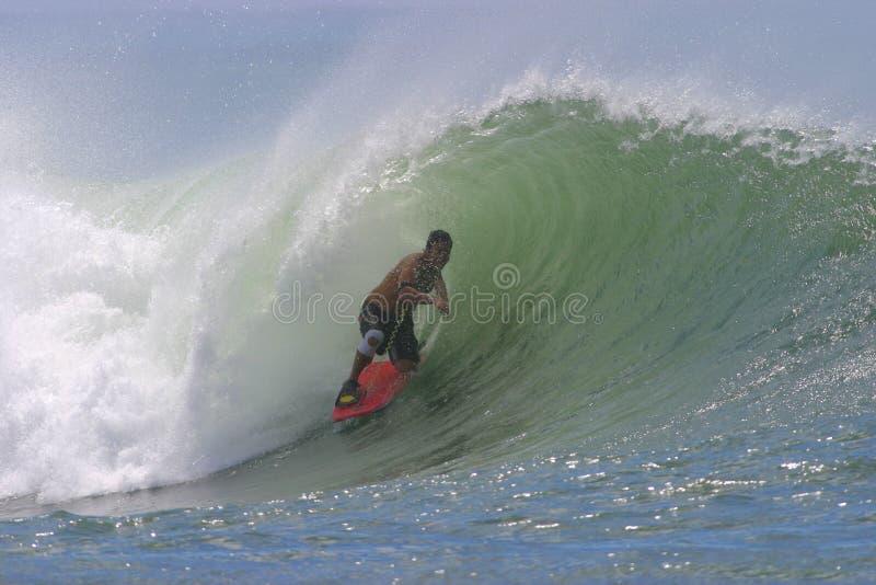 bodyboarding κύμα σωλήνων σερφ της Χα στοκ φωτογραφία με δικαίωμα ελεύθερης χρήσης