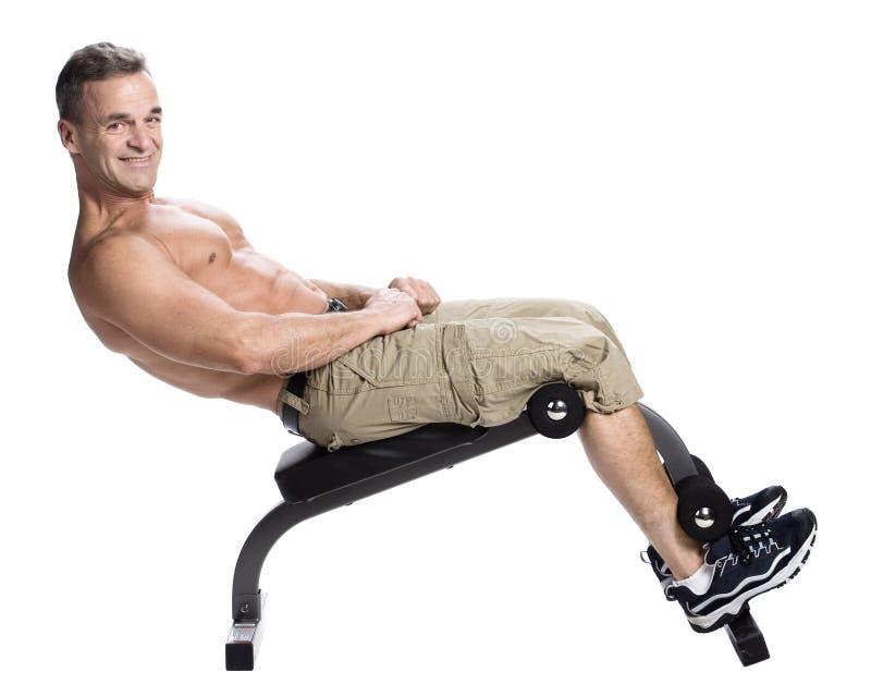 Bodybuilden lizenzfreies stockbild