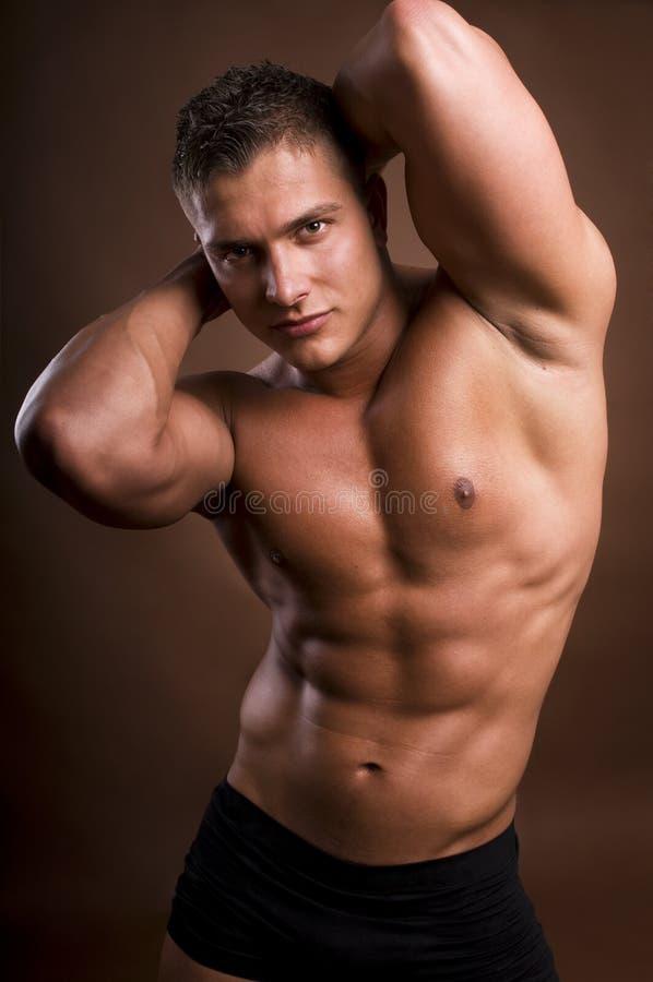 bodybuilder άτομο στοκ εικόνα με δικαίωμα ελεύθερης χρήσης