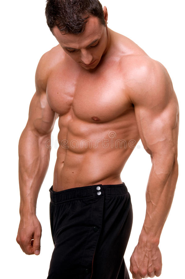 Free Bodybuilder. Stock Image - 11866971