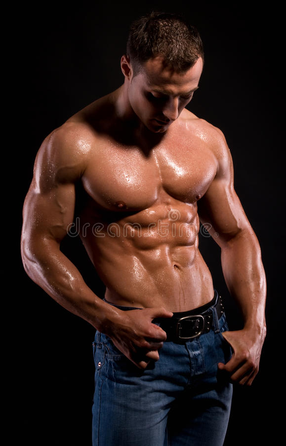 Bodybuilder. foto de stock