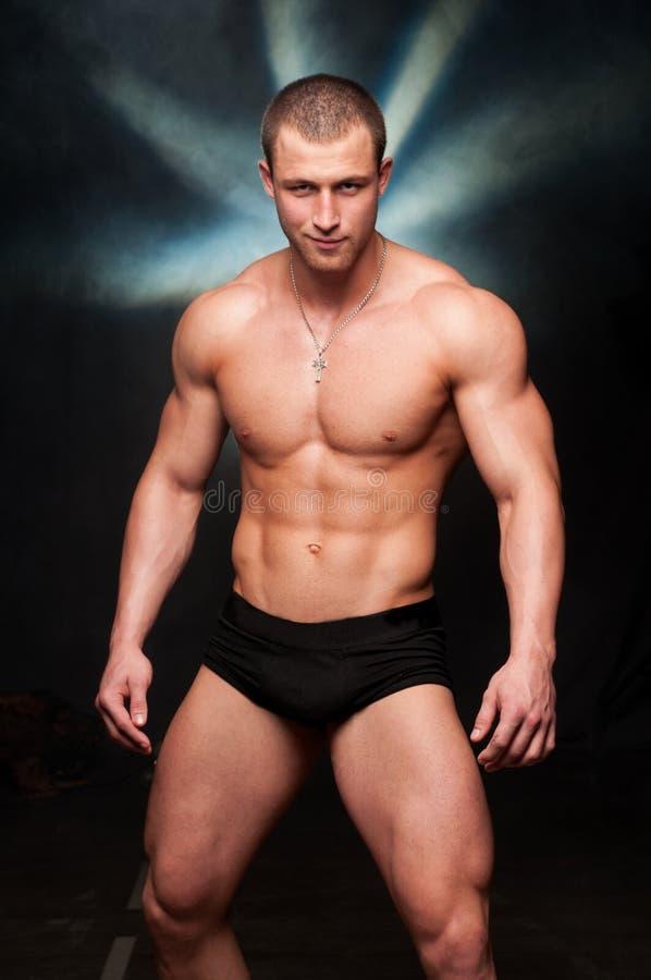 Bodybuilder immagine stock