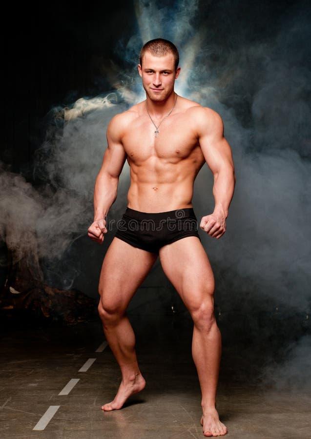 Bodybuilder fotografia stock