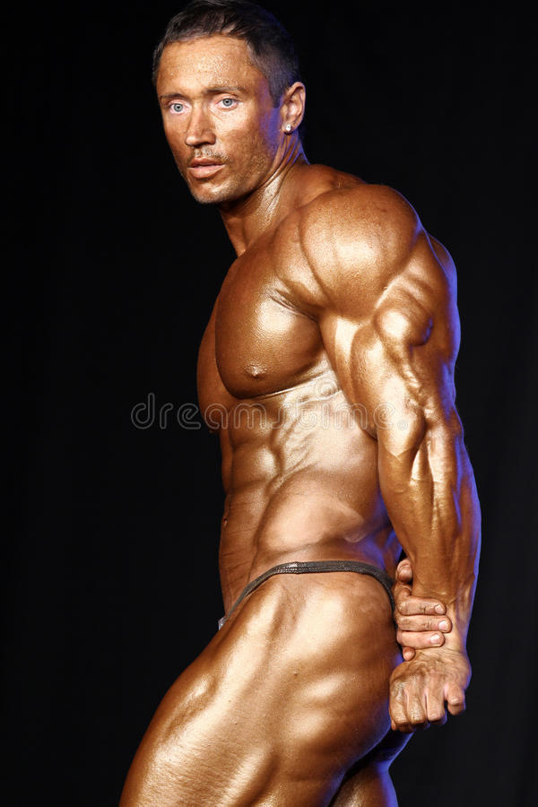 Bodybuilder photographie stock libre de droits
