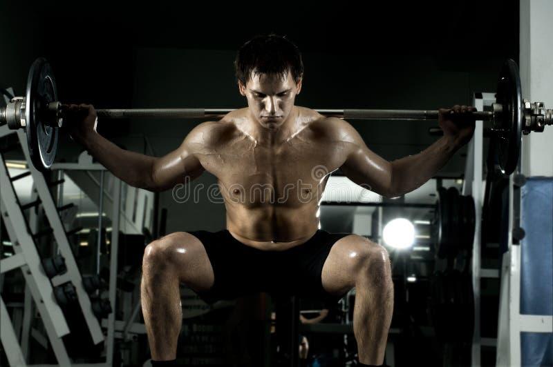 Bodybuilder immagine stock libera da diritti