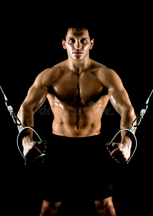 Download Bodybuilder stock image. Image of healthy, concept, exercise - 25896573