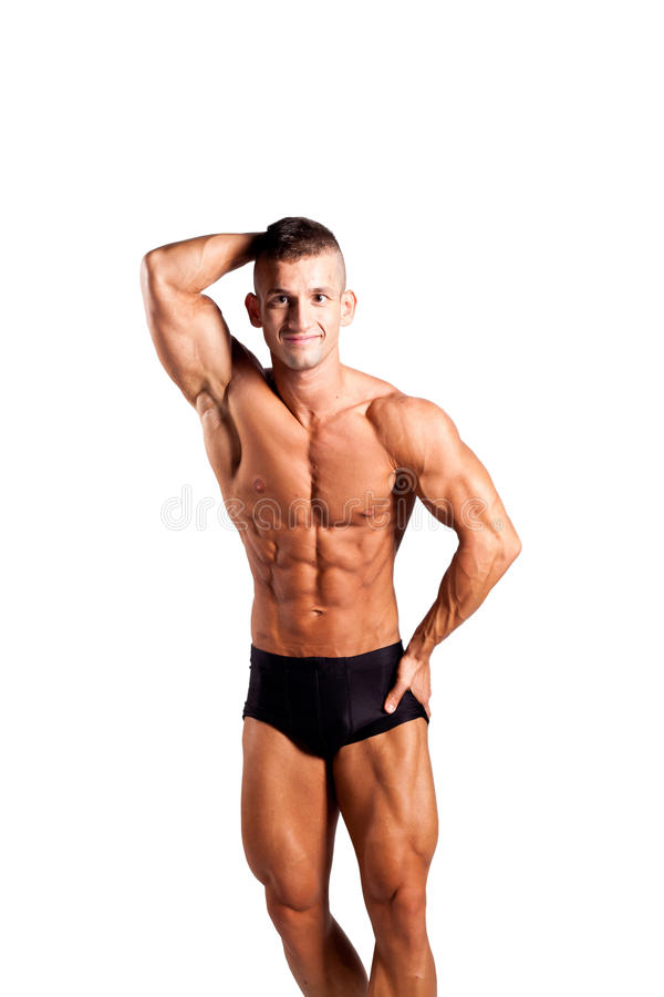Bodybuilder stockfotografie