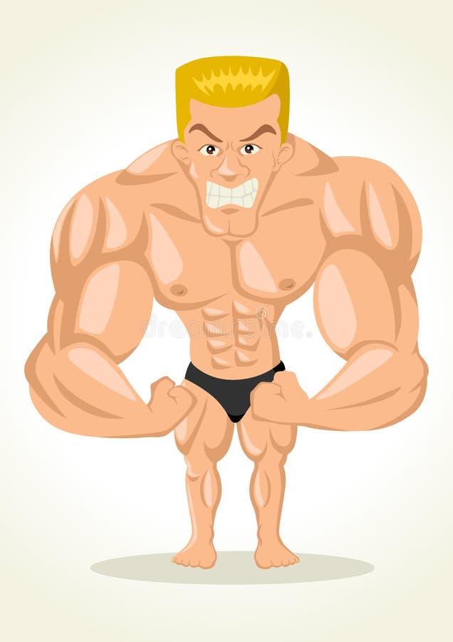 Bodybuilder ilustracji